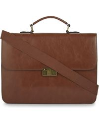 ALDO - Hallock Leather Briefcase - Lyst