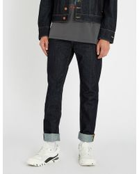 Vivienne Westwood Anglomania - Slim-fit Tapered Jeans - Lyst