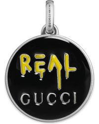 Gucci - Ghost Sterling Silver Charm - Lyst
