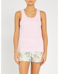 Peter Alexander - Printed Stretch-cotton Pyjama Set - Lyst