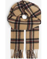 Sandro - Checked Wool Scarf - Lyst