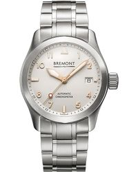 Bremont - 37rg Solo Stainless Steel Watch - Lyst