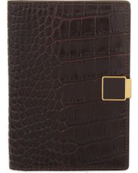 Smythson | Mara Leather Passport Cover | Lyst