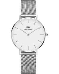 Daniel Wellington - Classic Petite Stainless Steel Watch - Lyst