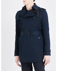 Sandro | Double-breasted Cotton Trench Coat | Lyst