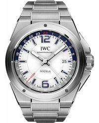 Iwc - Iw324404 Ingenieur Stainless Steel Automatic Movement Watch - Lyst