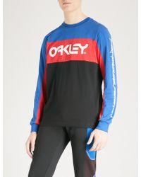 Oakley | Thermonuclear Protection Cotton-jersey Top | Lyst