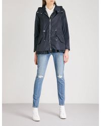Moncler - Lotus Hooded Shell Jacket - Lyst