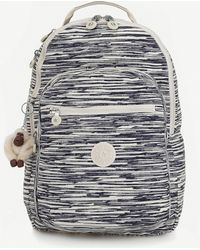 Kipling - Clas Seoul Large Nylon Backpack - Lyst