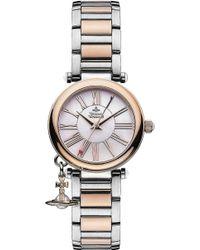 Vivienne Westwood | Vv006prssl Mother Orb Silver Watch | Lyst