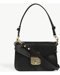 Longchamp - Mademoiselle Leather Shoulder Bag - Lyst
