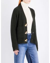 Mo&co. - Knitted Buttoned Cardigan - Lyst