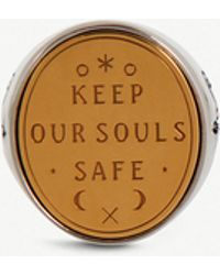Givenchy - Keep Our Souls Safe Silver-tone Ring - Lyst