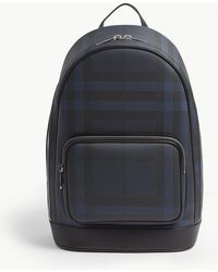 Burberry - London Check Backpack - Lyst