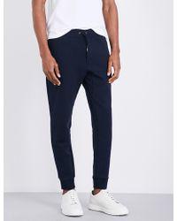 Polo Ralph Lauren - Logo Skinny Jersey Jogging Bottoms - Lyst