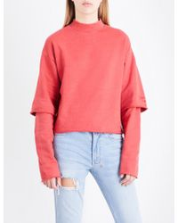Ksubi | Second Time Cotton-jersey Sweatshirt | Lyst