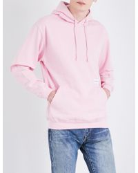 MKI Miyuki-Zoku - Logo-print Cotton-jersey Hoody - Lyst