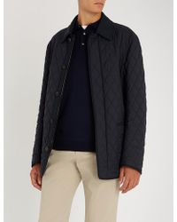 Brioni - Reversible Quilted Shell Jacket - Lyst