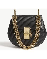 Chloé - Drew Small Quilted Leather Shoulder Bag - Lyst