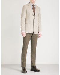 Gieves & Hawkes - Regular-fit Wool And Silk-blend Jacket - Lyst