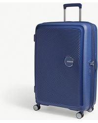 American Tourister - Soundbox Expandable Four-wheel Suitcase 77cm - Lyst