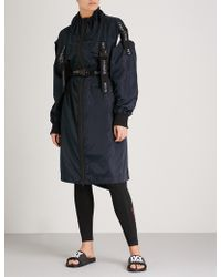 Ivy Park - Harness-detail Shell Coat - Lyst
