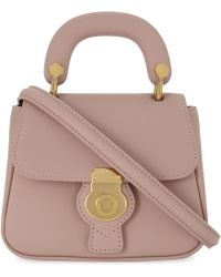 Burberry - Dk88 Trench Leather Mini Cross-body Bag - Lyst