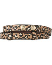 L.K.Bennett - Zahara Buttoned Leather Belt - Lyst