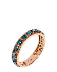 Annoushka - Dusty Diamonds 18ct Rose-gold And Diamond Eternity Ring - Lyst