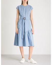 M.i.h Jeans - Aubrey Chambray Dress - Lyst