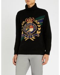 Polo Ralph Lauren - Crest Wool Turtleneck Jumper - Lyst