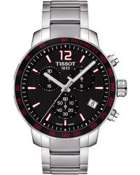 Tissot - T095.417.11.057.00 Quickster Stainless Steel Watch - Lyst