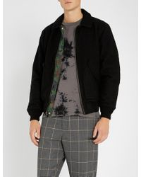 Stussy - Reversible Camouflage-print Boiled-wool And Satin Jacket - Lyst