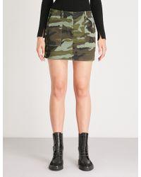 Nili Lotan - Ilona Camouflage-print Woven Skirt - Lyst