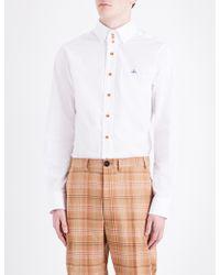 Vivienne Westwood - Krall Classic-fit Stretch-cotton Shirt - Lyst