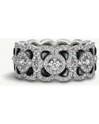 De Beers - Enchanted Lotus 18ct White-gold - Lyst