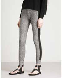 The Kooples - Side-stripe Fleece Jogging Bottoms - Lyst