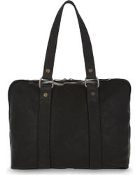Guidi - Small Horse Leather Holdall - Lyst