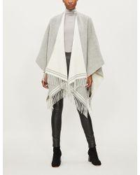 Rag & Bone - Tasselled Wool Poncho - Lyst