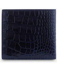Smythson - Mara 8 Card Leather Wallet - Lyst