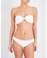 Marysia Swim - Antibes Scalloped Bikini Top - Lyst