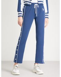 The Kooples - Button-up Jersey Jogging Bottoms - Lyst