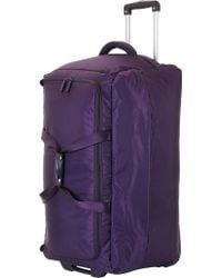 Lipault - Foldable Wheeled Duffel Bag 55cm - Lyst