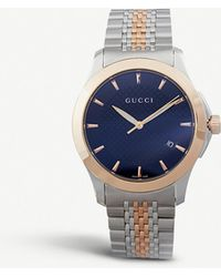 1f24665e6b2 Gucci - Ya126410 G-timeless Collection Stainless Steel And Pink-gold Pvd  Watch -