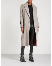 Zadig & Voltaire - Martin Single-breasted Wool-blend Coat - Lyst