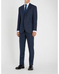 Richard James - Chalk-stripe Wool And Cashmere-blend Suit - Lyst