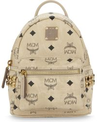MCM - Stark Stud Detail Extra-mini Backpack - Lyst