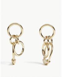 Chloé - Reese Mini Circle Drop Earrings - Lyst
