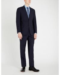 Emporio Armani - G-line Striped Wool Suit - Lyst