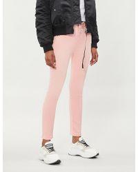 The Kooples - Studded Skinny Jeans - Lyst